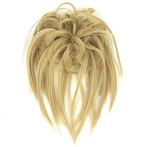 iSunday Chaotischer Dutt Haar Haargummis Haarverlängerung Einfach zu Kleidung Synthetisch Chignon Haarteil - 6023