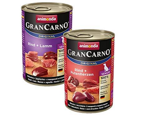 Animonda Hund GranCarno Senior 12 x 400g Mix Pack