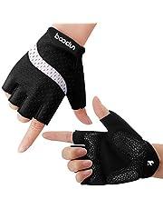 Fietshandschoenen, Anti-slip En Schokabsorberende Mountainbike-handschoenen, Felle kleur, Unisex