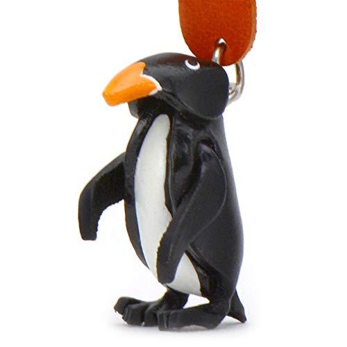 MONKIMAU Pingouin Pingouin - Porte-clés Déco Figurine en Cuir véritable dans la catégorie...