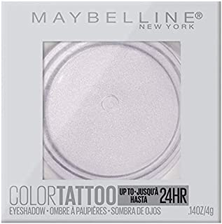 Maybelline New York Color Tattooup to 24HR Longwear Waterproof Fade Resistant Crease Resistant Blendable Cream Eyeshadow Pots Makeup, Chill Girl, 0.14 oz.