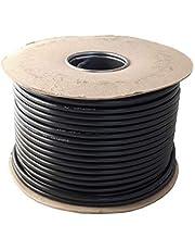 Ronde zwarte 2, 3 ader flexibele kabel 0.75 mm, 1.0 mm, 1.5 mm 3182Y 3183Y volledige rol en aangepaste gesneden lengtes beschikbaar