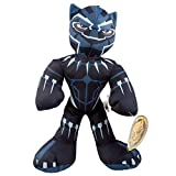 Marvel Spiderman Spider-Man Plush Figure Doll Stuffed Animal Avengers Superheroes (Black Panther)
