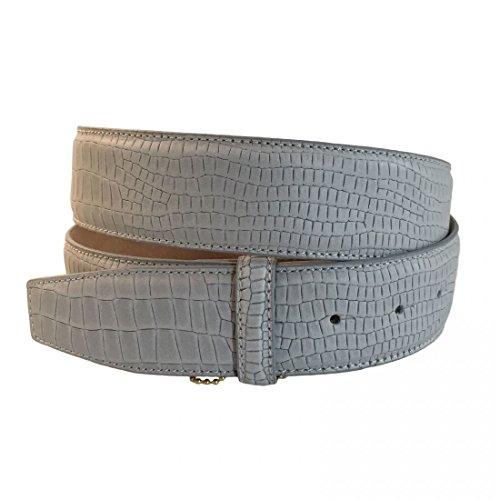 VMP Unisex Gürtel Dakar Orson AME933 Leder verschiedene Farben, Größe:100;Farbe:Grau