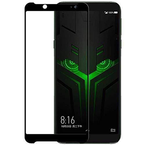 [2 pacotes] Protetor de tela Xiaomi Black Shark Helo de cobertura total, protetor de tela de vidro temperado HD transparente para Xiaomi Black Shark Helo de 6,01 polegadas
