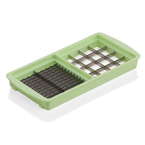 Genius Nicer Dicer Magic Cube Zubehör Messereinsatz 6x36 & 18x18 mm - Messer mit dem Nicer Dicer Magic Cube (Fassung: 1200 ml) kompatibel | Scheiben/Streifen & große Würfel/Stifte