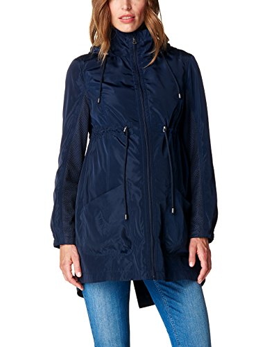 ESPRIT Maternity Damen Umstands Jacken Jacket O84453, Blau (Night Blue 486), 40 (Herstellergröße:40)