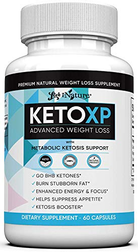 Keto XP Advanced Weight Loss Pills - Complete Keto Diet Pills - Ketogenic Supplement 800mg