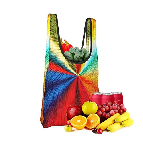 Mark Stars Abstract Fold Eco-Friendly Shopping Bags Large Capacity Daily Necessity
