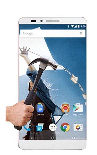 1 Protector Cristal Templado Compatible con Huawei Google Nexus 6P