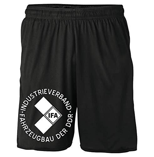 Uglyshirt89 IFA Shorts | DDR Trabant Wartburg Simson Sommer Kurze Hose | M1 (L)