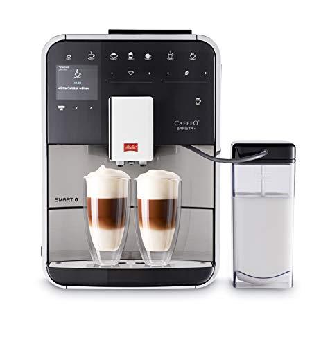 Melitta F840-100 Barista T Smart Kaffeevollautomat, 1450, steel, 1.8 liters, edelstahl/schwarz