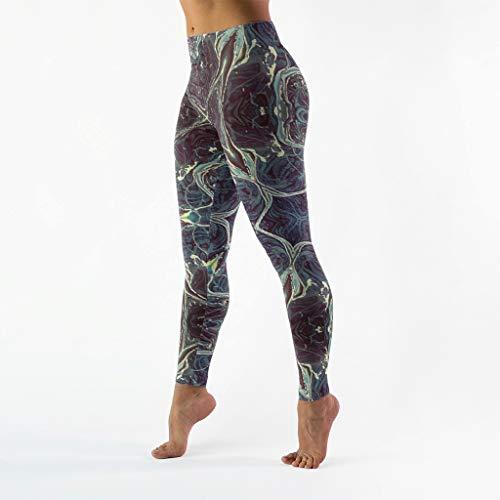 Karela Texture, Totem lichte gymnastiek capribroek - 4-weg stretch hardloopbroek leggings yogabroek textuur