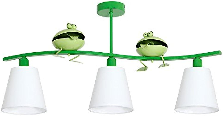 ZABA III   Frosch Kinderzimmerleuchte Kinderzimmerlampe Hngelampe Deckenleuchte Deckenlampe Kronleuchter