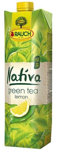 12x Rauch - Nativa Green Tea Lemon - 1000ml