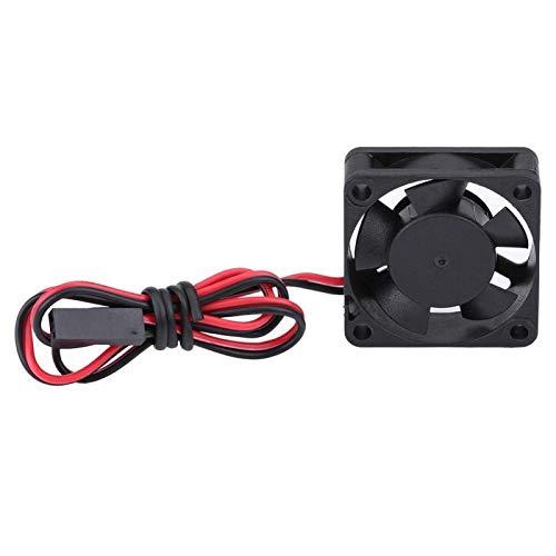 Emoshayoga Ventilador de enfriamiento de Motor RC Robusto y Resistente al Desgaste portátil Ventilador de enfriamiento del Motor de Motor RC para Ventilador de CC Piezas de automóvil(25 * 25MM)