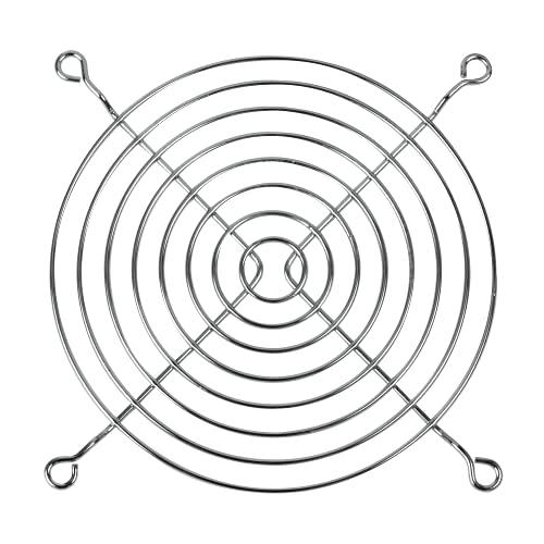 ARCTIC Fan Grill 120 mm - Rejilla externa de protección para ventilador de ordenador, estructura de acero cromado, compatible con ventiladores de 120 mm, resistente - Cromado