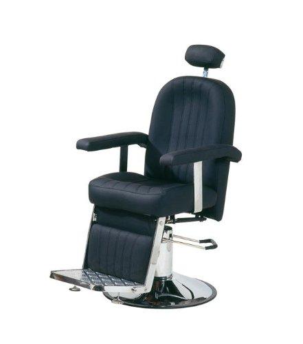 Comair 3070026Hamburgo silla de peluquería profesional con bomba hidráulica, bloqueable, color negro