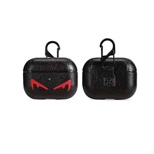 ZHYLIN Airpods Pro Case Eenvoudig Zakelijk Lederen Hoes, Mode Herfst Bewijs Cover Voor Aripods Pro(2019) Hoes, Airpods Accessoires, Paar Gift, airpods pro, E
