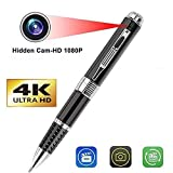 SekyuritiBijon Spy 4K Pen Camera with 1920px HD Video/Audio Recording 12 Mega Pixel