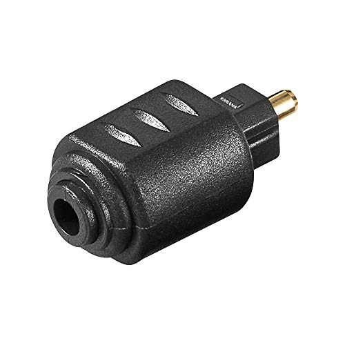Wentronic Adapter Mini Jack 3,5 mm bis Toslink