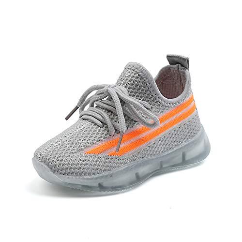 Zapatillas y calzado casual deportivo para niña niños con ligero de LED...