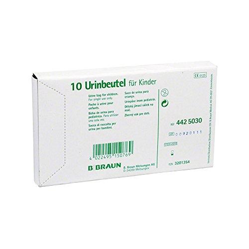 Urinbeutel F.Kinder Z.Ankleben O.Antir.Vent.Steril, 10 St