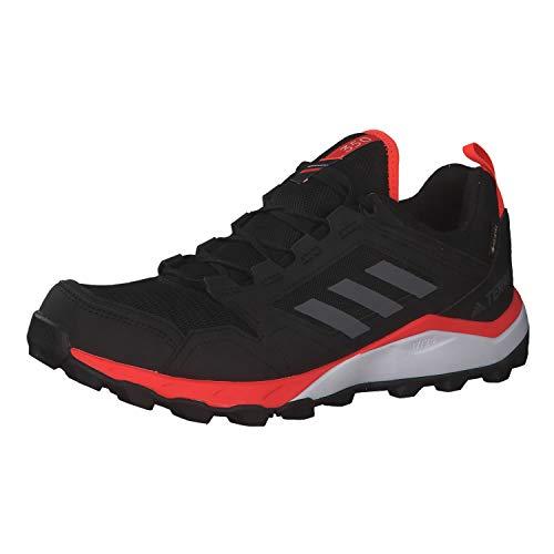 adidas Terrex Agravic TR GTX, Zapatillas para Carreras de montaña Hombre, Negro Cblack Grefou Solred 000, 47 1/3 EU