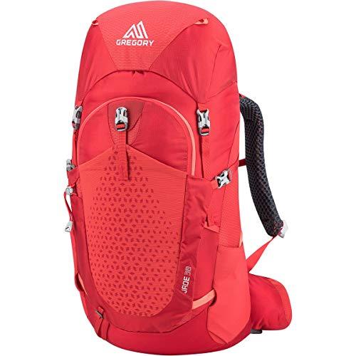 Gregory W Jade 38 Rot, Damen Alpin- und Trekkingrucksack, Größe X-Small/Small - Farbe Poppy Red