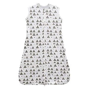 Saco de dormir para bebé, verano, niña, primavera, pijama de algodón fino con estrellas recién nacidas – 0,5 tog. blanco…
