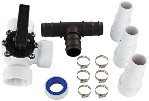 Miganeo® Bypass Set - Adapter für Poolheizung - Umschaltventil 060045GH