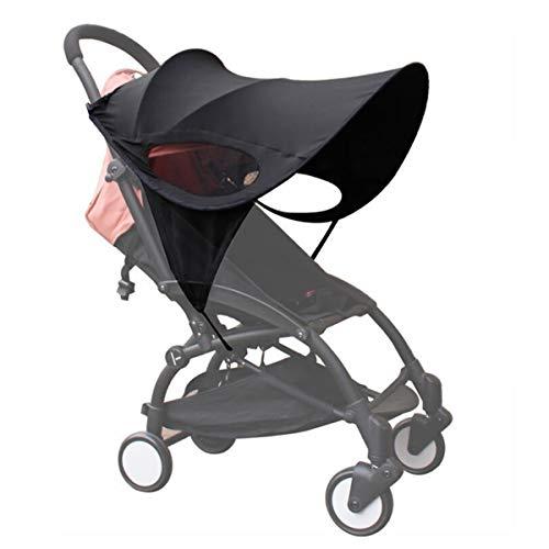 Tendalino per passeggino, Copertura per passeggino, protezione UV estiva antivento impermeabile protezione solare regolabile protezione solare adatto per passeggini
