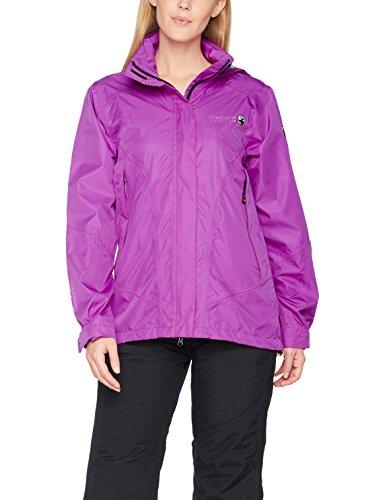 DEPROC-Active Damen Outdoor Jacke und Regenjacke DEPROC CHARNY bis Gr 54, Purple, 42
