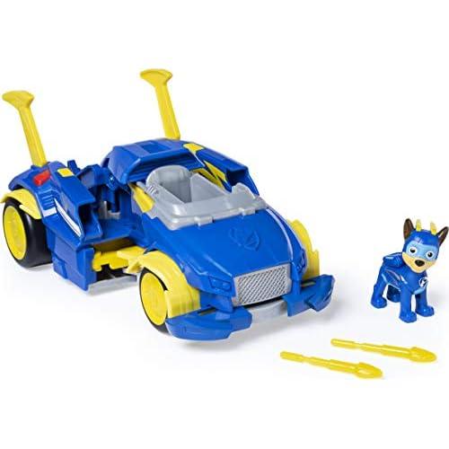 PAW Patrol, Auto di Pattuglia Trasformabile Powered Up di Mighty Pups Super PAWs Chase