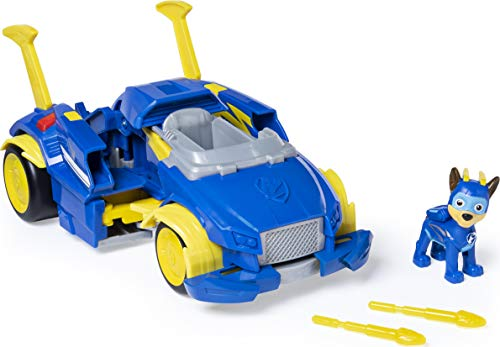 Paw Patrol 6054868 Power Changing Vehicle Chase, Multicolor