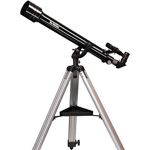 Skywatcher SK607AZ2 Mercury-607 (60 mm (2,4 inch), f/700) refractor telescoop zilver