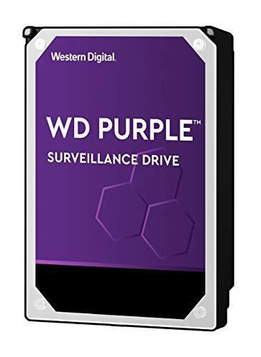 WD Purple Hard Disk Drive 3 TB per sorveglianza, Intellipower 3.5 Inch SATA 6 Gb/s 64 MB di cache 5400 rpm - Opzione FFP