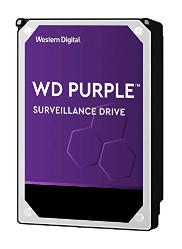 WD Purple 3 TB Surveillance Hard Disk Drive, Intellipower 3.5 Inch SATA 6 Gb/s 64 MB di cache 5400 rpm - Opzione FFP