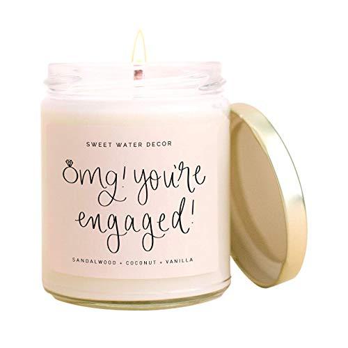 Sweet Water Decor, OMG, You're Engaged!   Coconut, Mahogany, Vanilla,...