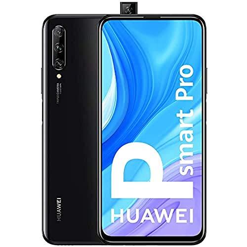 HUAWEI P Smart Pro - Smartphone con Pantalla Ultra FullView FHD+ de 6.59' (6GB de RAM + 128GB de ROM, Triple Cámara IA de 48MP, 4000 mAh, Android 9) Color Negro