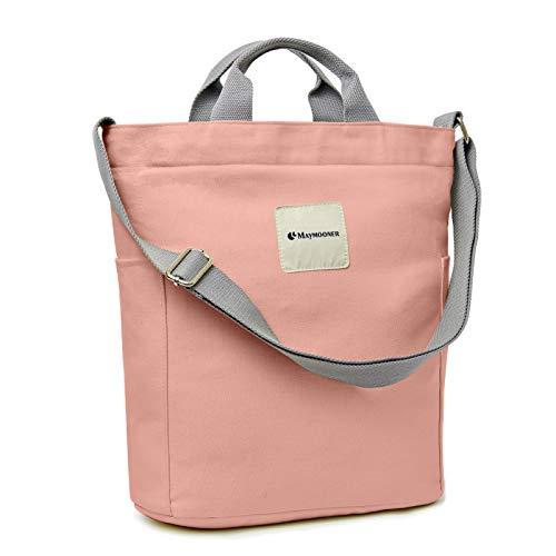 MAYMOONER Umhängetasche für Damen Multifunktionale Umhängetaschen Handtasche Pink