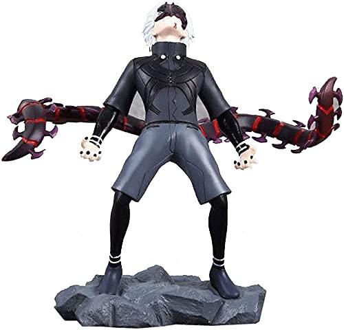 Kurrma Tokyo Ghoul Kaneki Ken (6,2 pollici / 16 cm) Re con un occhio solo RCS/Centopiedi Coda mezzo risvegliato Modello/statua del personaggio dei cartoni animati in scatola in PVC Action figure Ogget