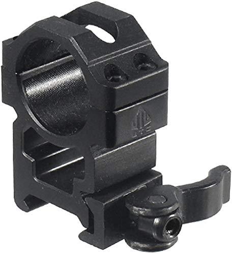 UTG 1  2PCs High Pro LE Grade Picatinny QD Rings: 22mm Wide , Black