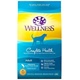 Wellness Natural Pet Food 8909 Complete Health Natural Dry Dog Food, Whitefish & Sweet Potato, 30-Pound Bag
