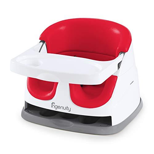 Ingenuity, Rehausseur de Chaise 2en1 - rouge