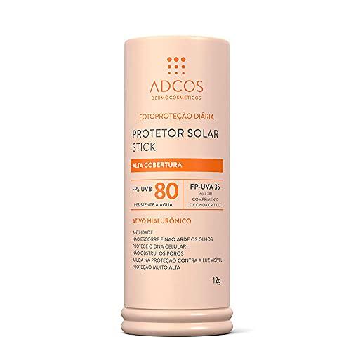 Adcos Protetor Solar Tonalizante Stick FPS80 Nude 12g