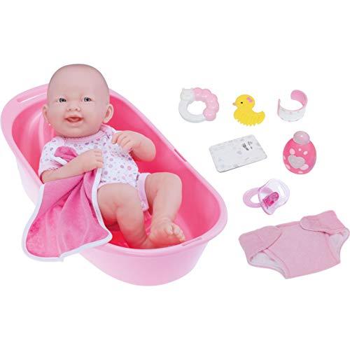 La Newborn Deluxe Bath Time Fun Set