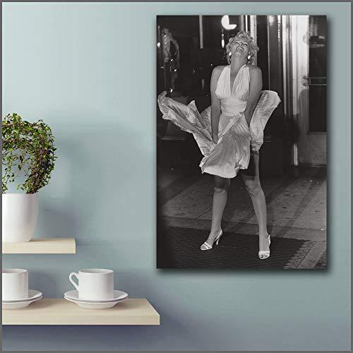 Geiqianjiumai Impressionnant Déesse Création Sept Ans Démangeaisons Murale Artiste Décor À La Maison Salon Moderne Impressions sur Toile Peinture sans Cadre 30X45 CM