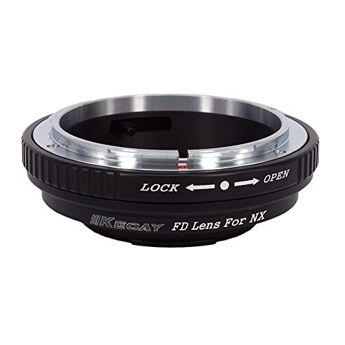 KECAY Objektiv Adapter für Canon FD/FL Mount Objektiv für Samsung NX-Mount-Kamera NX1 NX3000 NX2000 NX300M NX300 NX1000 NX210 NX200 NX30 NX20 NX5 Adapterring Kamera Ring Objektiv FD-Samsung NX
