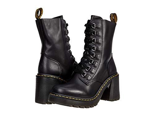 Dr. Martens Women's Lace Fashion Boot, Black Sendal Nappa, 7